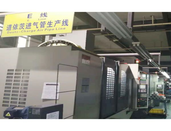 Deutz发动机管件生产线